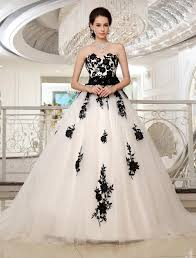 white and black wedding dresses 2014 black lace and white tulle corset gown