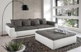 sofa grau weiãÿ grau weiße