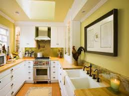 ideas for a galley kitchen bright yellow galley kitchen color ideas galley kitchen color
