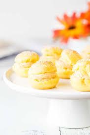 light pumpkin dessert recipes pumpkin cream puffs sweet savory by shinee