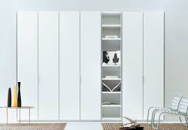 Bookcase With Door by Contemporary Wardrobe Wooden With Swing Doors With Bookcase
