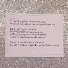 wedding gift honeymoon stunning wedding invitation honeymoon gift wording