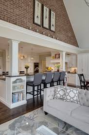 long narrow living room with fireplace in center best 25 kitchen living rooms ideas on pinterest kitchen living