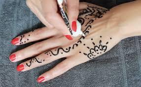 henna tattoo tutorial selber machen german youtube