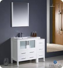 modern bathroom vanity mirror allier 72 modern bathroom vanity