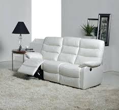 canapé blanc design canap design cuir blanc beautiful canape cuir fantastique canape