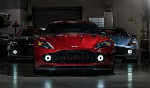 aston martin vanquish red three aston martin vanquish zagatos in one place