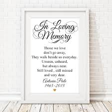 in loving memory wedding in loving memory heart personalized framed sign memorial candles