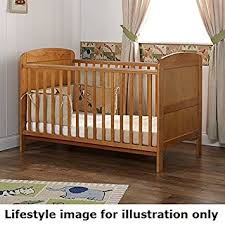 Obaby Crib Mattress Obaby Grace Cot Bed Country Pine With Foam Safety Mattress