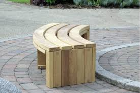 diy curved bench inexpensive diy pallet wood curved bench seat for alone and kids