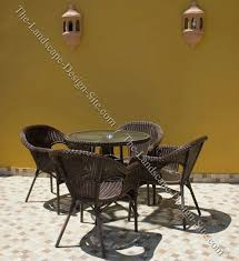 patio wall color and decor