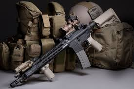amazon acog black friday bcm with kmr 13 and acog reflex sight tactical rifles