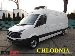 volkswagen crafter back used volkswagen crafter furgon chłodnia 0 c temperature controlled