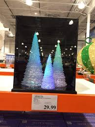 led color changing trees set of 3 costcochaser