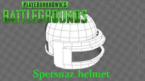 pubg 3d models playerunknown s battlegrounds spetsnaz helmet youtube