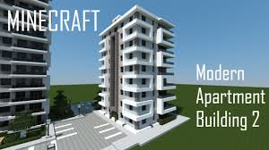 minecraft modern apartment building 2 download youtube