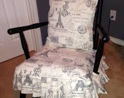 rocking chair cover custom chair slipcover for your discontinued pottery barn