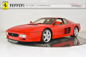 1993 ferrari used 1993 ferrari 512 tr for sale fort lauderdale fl