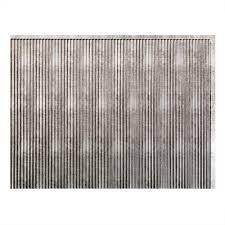 Fasade  In X  In Rib PVC Decorative Backsplash Panel In - Silver backsplash