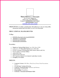 resume sle for ojt accounting students blog 100 resume in visual basic therpgmovie