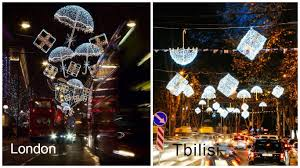 new christmas decorations for tbilisi this year georgia today on