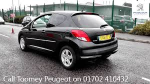 peugeot cars 2011 2011 peugeot 207 sportium 1 4l onyx black metallic ea61efx at