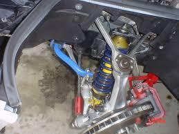 c4 corvette shocks reinforcement for shocks mounts coilovers install