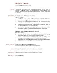 sample engineer resumes adorable sample engineering resume format for professional cv of