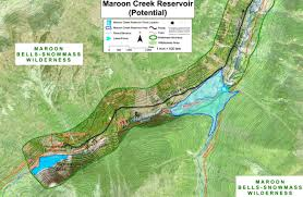 Snowmass Colorado Map by Ten Parties File Statements Of Opposition In Maroon Creek And