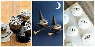 Mini Halloween Ornaments by 30 Halloween Cupcake Ideas Easy Recipes For Cute Halloween Cupcakes