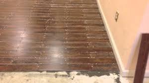 Laminate Floor That Looks Like Wood Tile Floor The Looks Like Wood Youtube