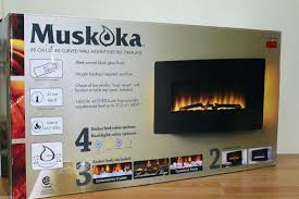 full image for muskoka electric fireplace instructions wall mount reviews costco urbana curved flame effect remote