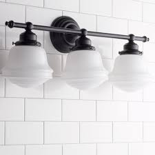 3 Fixture Bathroom by Milk Glass Bathroom Sconce Shades Of Light