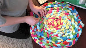 Braided Rugs Instructions Making A Braided Rug Youtube