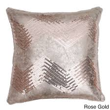 add style to any space with the crackle chevron sequin throw