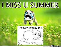 Miss U Meme - i miss u summer by wonzii meme center
