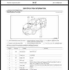 2017 nissan nv200 compact cargo m20 service repair manual u0026 wiring