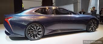 lexus next supercar tokyo 2015 lexus lf fc concept previews next ls image 399060