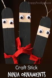 craft stick ornaments happy hooligans