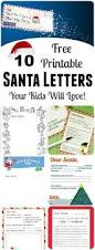 grab this free printable letter from santa santa christmas