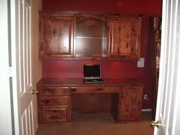 built in desk with knotty maple cabinet wholesalers kitchen