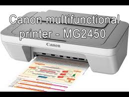 canon pixma mg2450 multifunctional printer for office