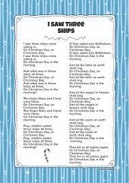 i saw three ships kids video song with free lyrics u0026 activities
