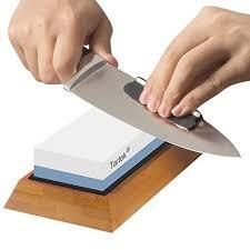 sharpening stones for kitchen knives tartek professional knife sharpening kit 2 sided 1000 6000