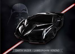 Lamborghini Veneno Galaxy - if star wars characters were cars yellow drive