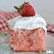 my favorite strawberry poke cake little dairy on the prairie