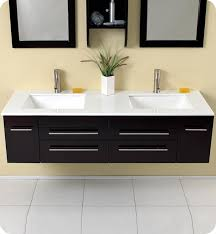 Attractive Modern Vanities For Bathroom And Appealing Modern - Bathroom vanities double sink 2