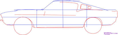ferrari sketch side view how to draw a ford mustang step by step cars draw cars online