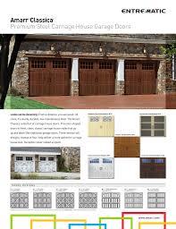 steel carriage garage doors amarr classica premium steel carriage house garage doors