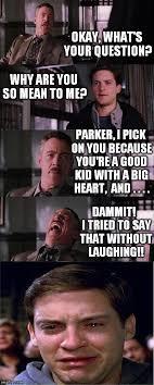 Why You So Mean Meme - awwww poor peter imgflip